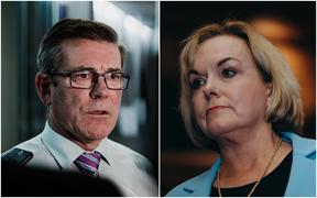 Michael Woodhouse and Judith Collins