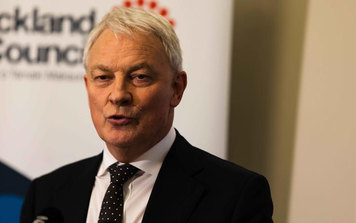 Auckland mayor Phil Goff announces the council has agreed to a budget with a 3.5 percent rates rise.