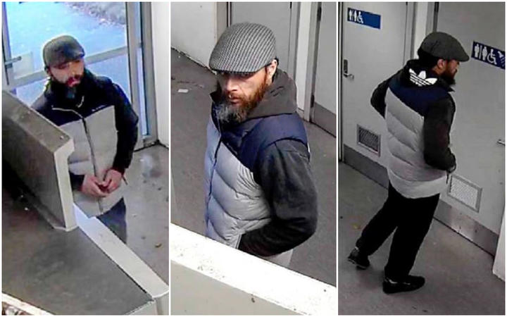 Man sought in relation to card skimming in Auckland and Waikato.