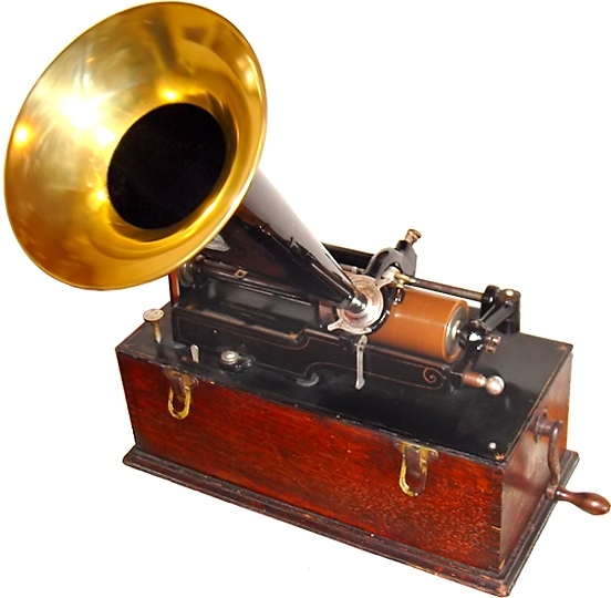 Edison Home Phonograph, Suitcase-Model