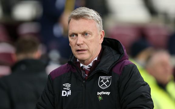 Il manager del West Ham United David Moyes.
