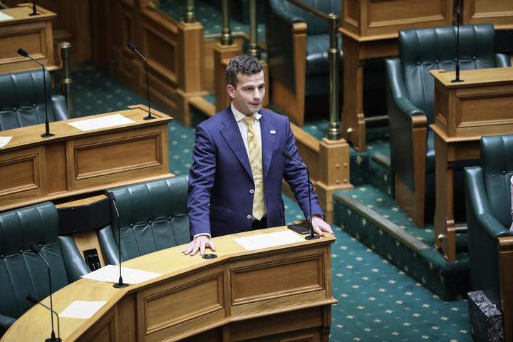 David Seymour in the House