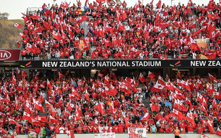 Tonga Fans and supporters.