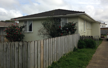 The Mangere house where three teenagers were badly injured while huffing.