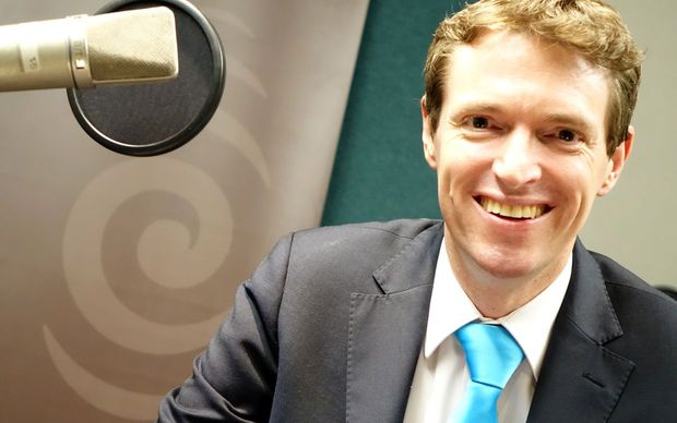 Conservative Party leader in Radio New Zealand's Auckland studio.