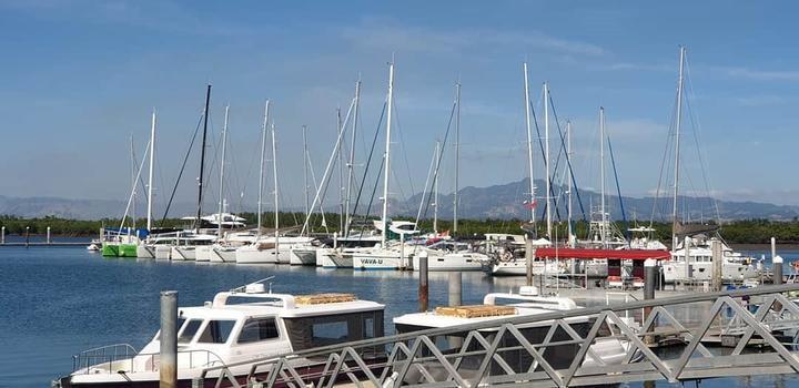Port Denarau Marina in Nadi.