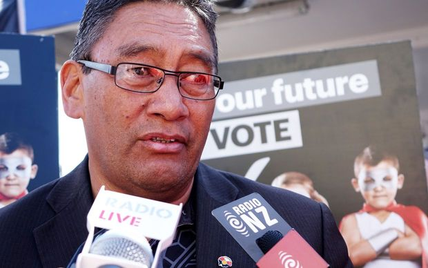 "Hone Harawira speaking about the ""predators on poverty""."