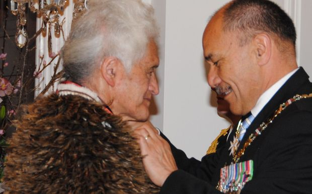 Huirangi Waikerepuru was made a Companion of the NZ Order of Merit for services to Māori.