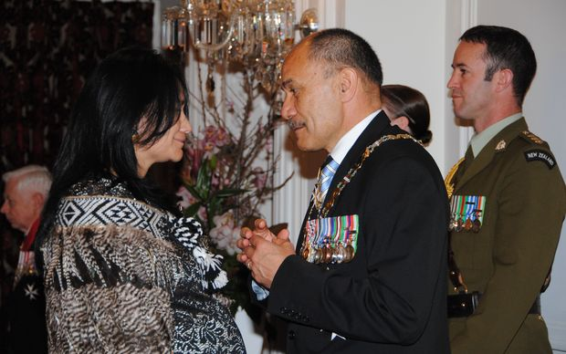 Heather Te Au Skipworth received the Queen's Medal for her services to athletics and Maori.