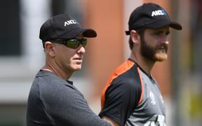 Gary Stead and Kane Williamson.