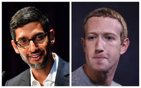 CEOs of Google and Facebook respectively