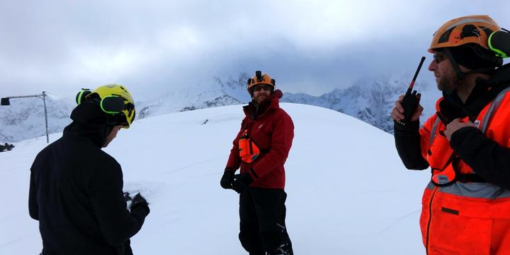 Waka Kotahi's Milford Rd Alliance which looks for avalanches.