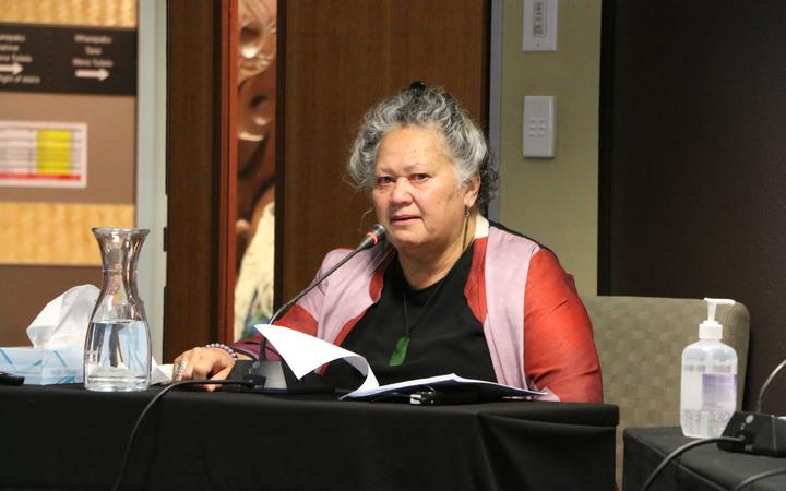 Katie Murray told the Waitangi Tribunal that she's hopeful more partnerships with hapū, iwi and Māori organisations will make a difference to the disparity in tamariki Māori going into care.