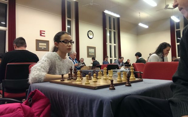 Layla Timergazi is New Zealand's youngest chess representative.