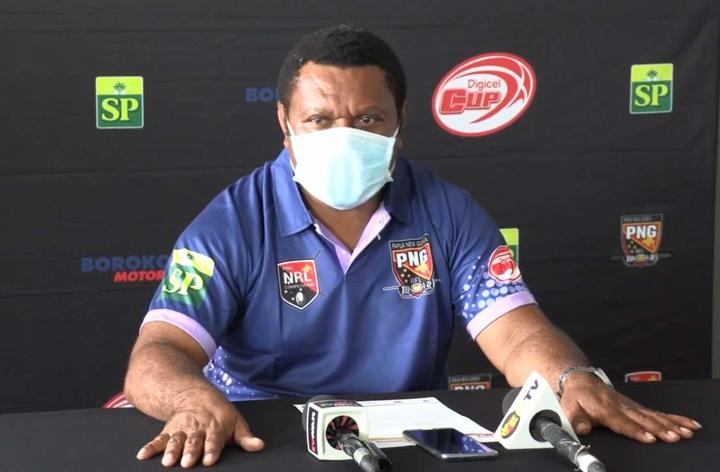 PNG National Rugby League Competition Manager Stanley Hondina.