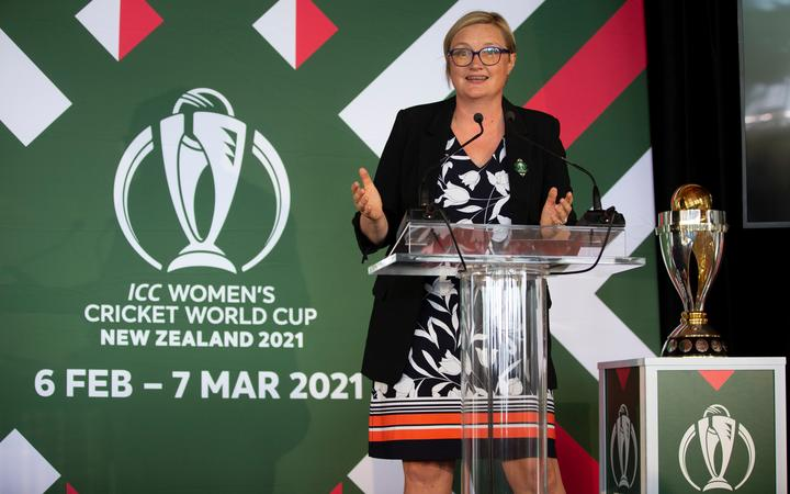 ICC Women's Cricket World Cup 2021, CEO, Andrea Nelson, during the ICC Women's Cricket World Cup Host City Announcement, held at Kohimarama Yacht Club,  Auckland, New Zealand.   23  January  2020   Photo: Brett Phibbs / PhibbsVisuals