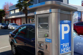 Pay-by-plate meters were rolled out in Marlborough in June last year.
