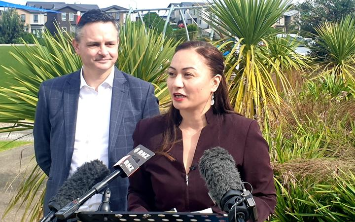 Green Party co-leaders James Shaw and Marama Davidson