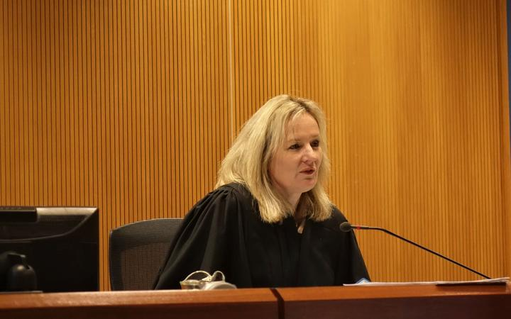 Judge Jo Rielly in the Nelson District Court.