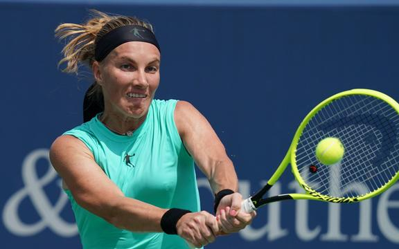 Russian tennis player Svetlana Kuznetsova.