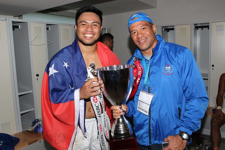 Muliagatele Brian Lima was an assistant coach when Samoa last tasted success on the World Sevens Series.