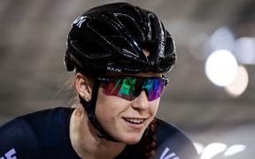 New Zealand track cyclist Racquel Sheath.