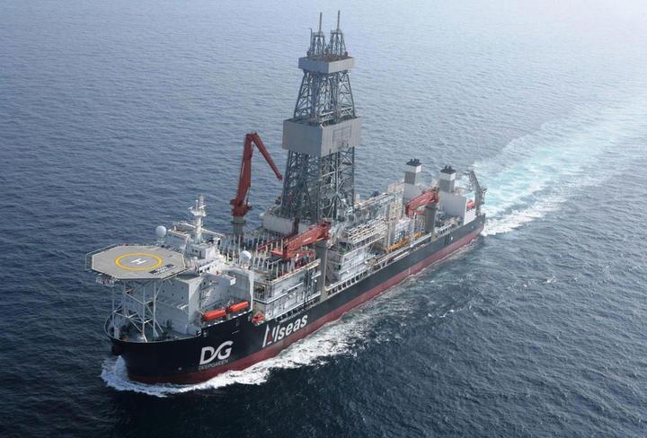 "Mitra DeepGreen Metals, Allseas, mengakuisisi bekas kapal bor ultra-deepwater ""Vitoria 10000"" untuk dikonversi menjadi kapal pengumpul nodul polimetalik."