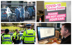 Covid-19 testing, checkpoints