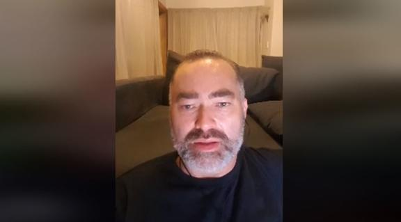 Billy Te Kahika responding to the lockdown announcement on Facebook Live