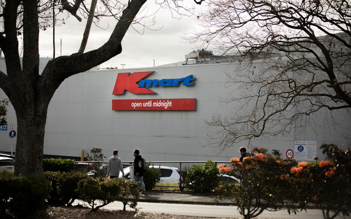 Kmart signage at the Westfield St Lukes mall.