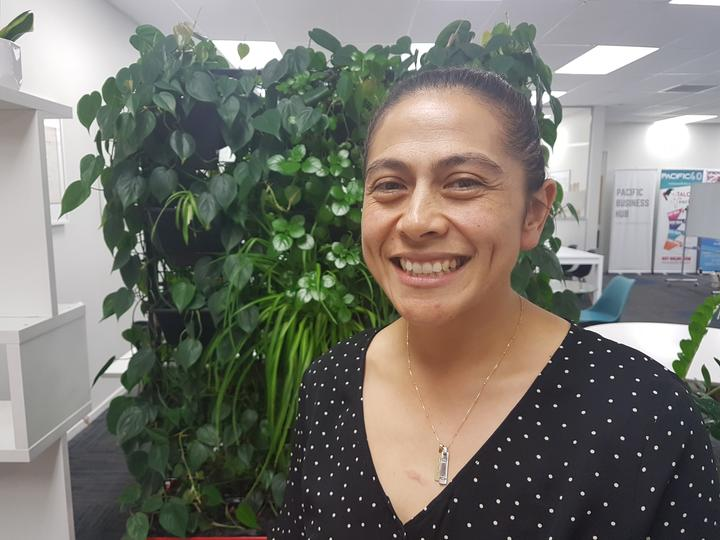 Natalia Nu'u from the Pacific Pharmacists Association