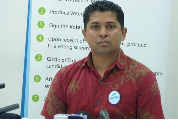 Fiji's Supervisor of Elections, Mohammed Saneem