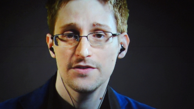 Edward Snowden via an internet link.