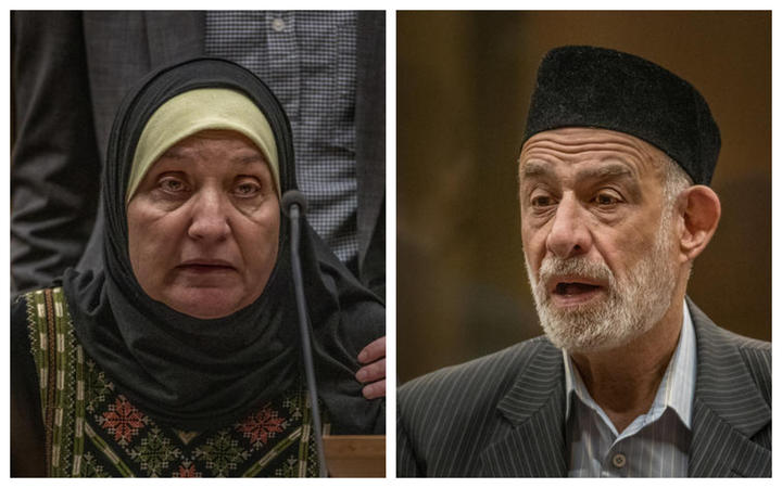 Parents of Ata Elayyan who was murdered at Al Noor Mosque
