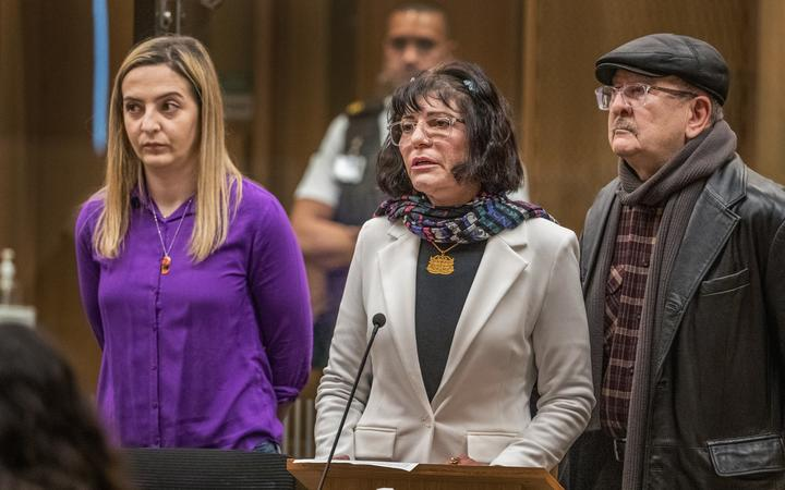 Janna Ezat - victim impact statement.  PHOTO: JOHN KIRK-ANDERSON  Sentencing for Brenton Tarrant on 51 murder, 40 attempted murder and one terrorism charge.
