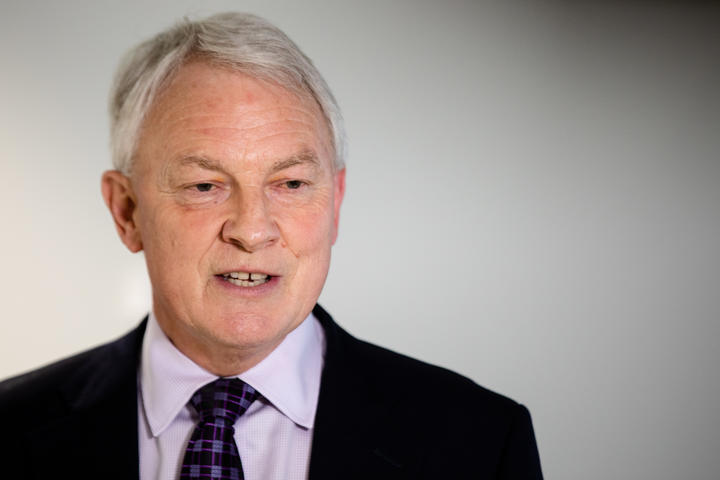Phil Goff spoke to the media after the cabinet's decision to extend the Level 3 lockdown in Auckland.
