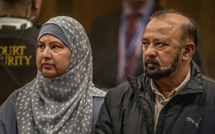 Mohammad Shamim Siddiqui, right - victim impact statement.