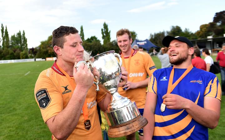 Jacob Coghlan of North Otago, following the Heartland Championship Meads Cup Final between North Otago and Wanganui, 2019.