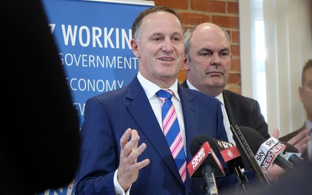 John Key and Steven Joyce.