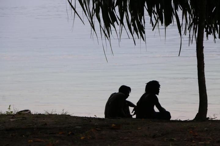 Shoreline at Tinputz, Bougainville.
