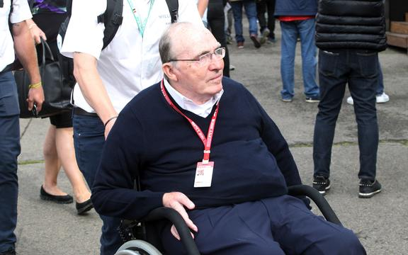 Williams F1 team boss Sir Frank Williams.