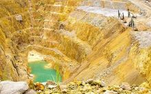 Marthas gold mine near Waihi