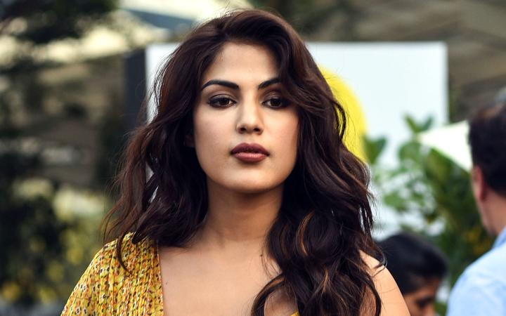 Bollywood actress Rhea Chakraborty pictured in Mumbai in February 2019.