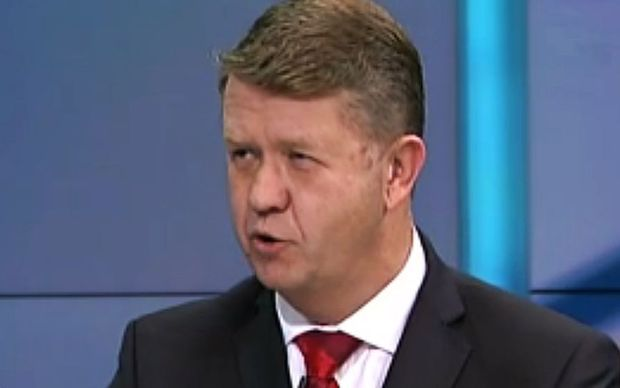 David Cunliffe speaks during the final debate.