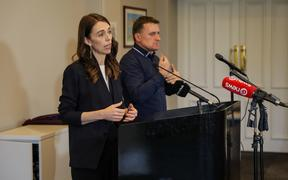 Jacinda Ardern announcing Cabinet's decision to keep Auckland at Alert Level 2.5 and the rest of the country at Alert Level 2. 14 September 2020