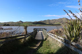 Elterwater Reserve freedom camping site, Marlborough.