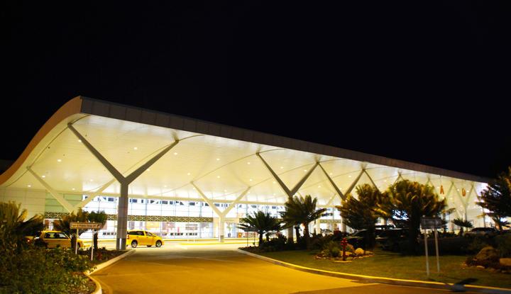 Nadi International Airport in Fiji.