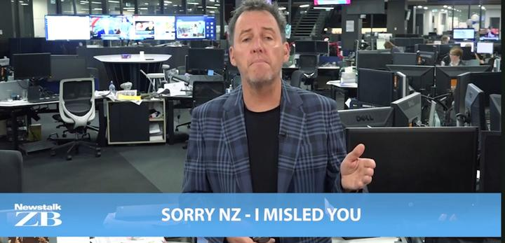 Sorry, not sorry: Mike Hosking in 2018 - hitting back at the broadcasting watchdog.