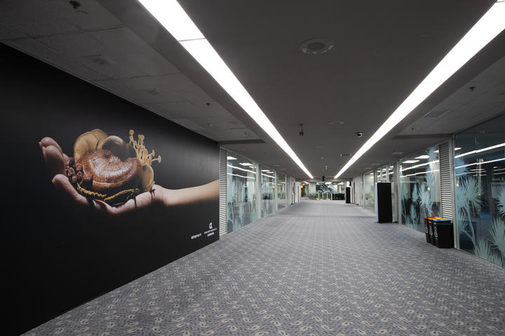 A deserted international arrival hall, at Auckland Airport during the Covid-19 level 3 lockdown, Auckland on 7 May  2020.