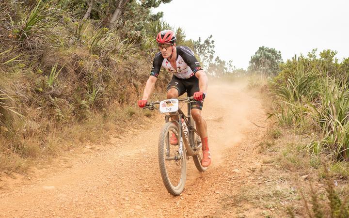 New Zealand mountain bike rider Sam Gaze.